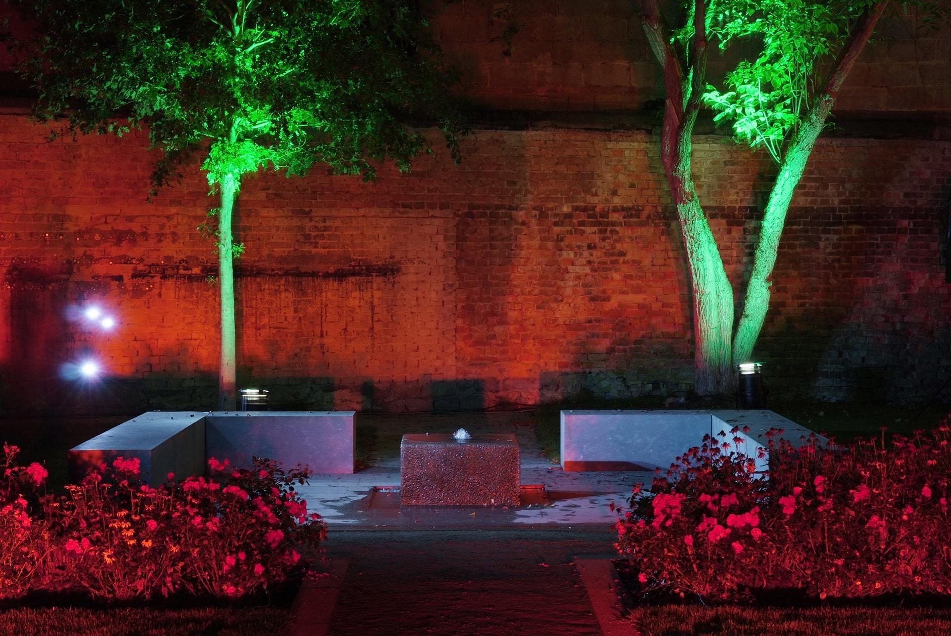 Drostengarten Lichtinstallation