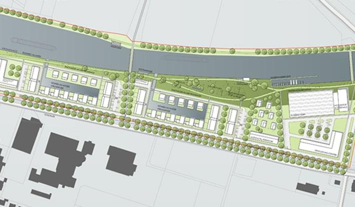 Städtebaulicher Realisierungswettbewerb Hafenstraße