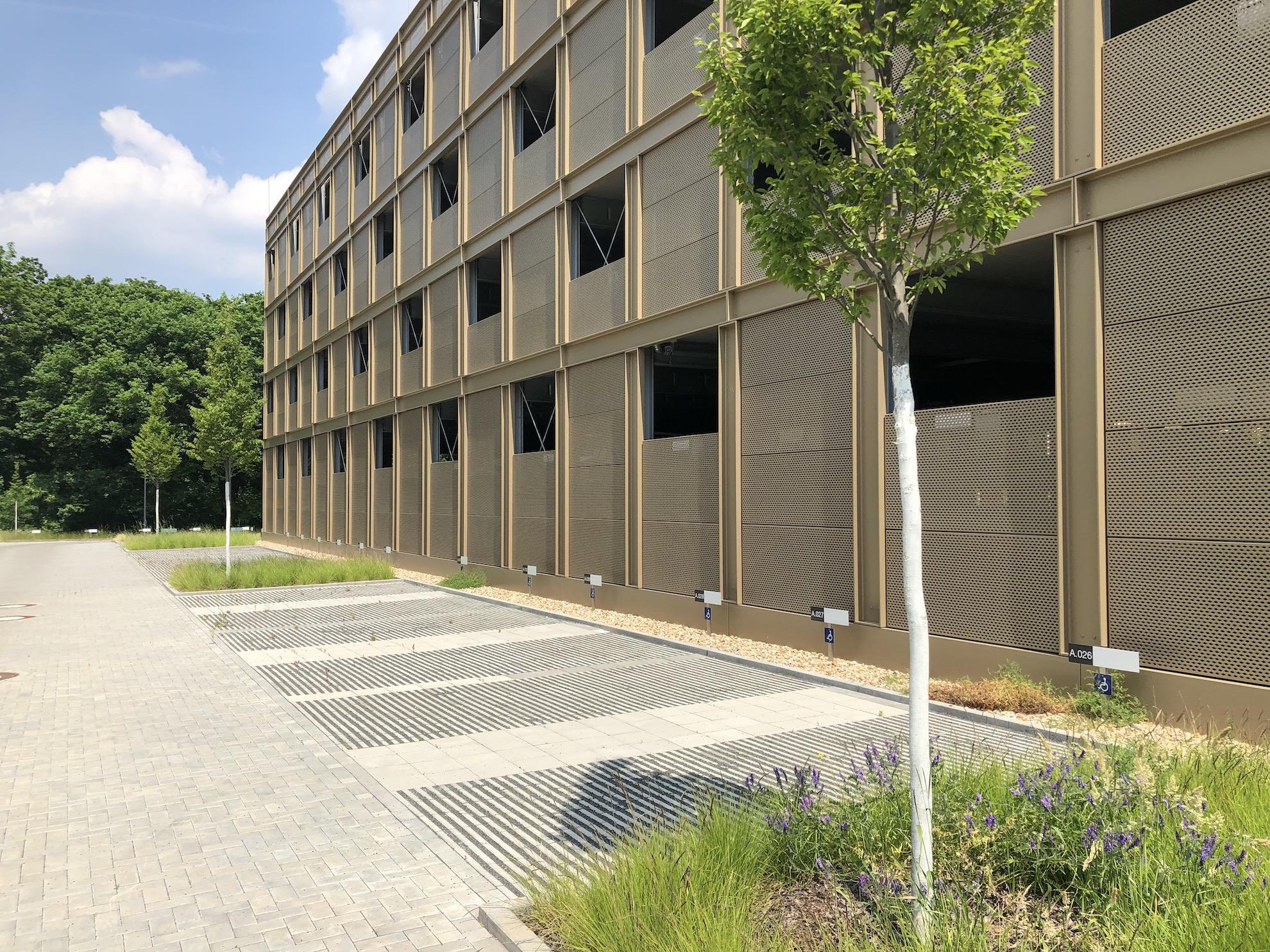 Cube Potsdam Parkplatz