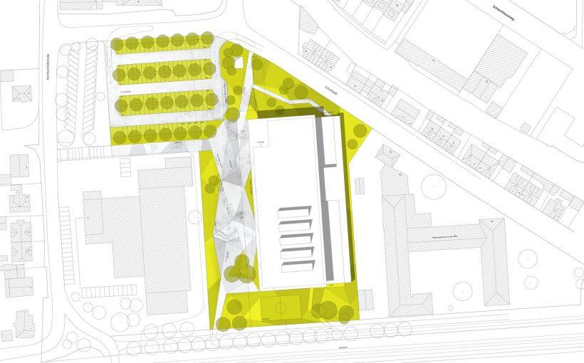 Errichtung Dreifachsporthalle mit Außengelände, Northeim